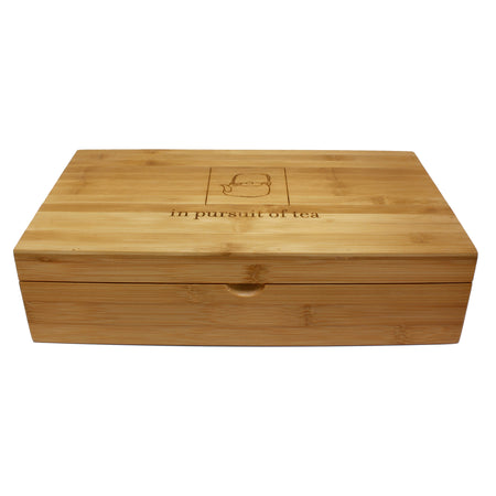 IPOT Bamboo Box with lid