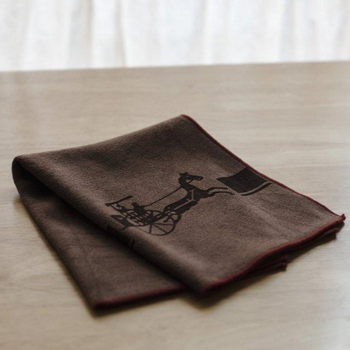 Brown Tea Towel front