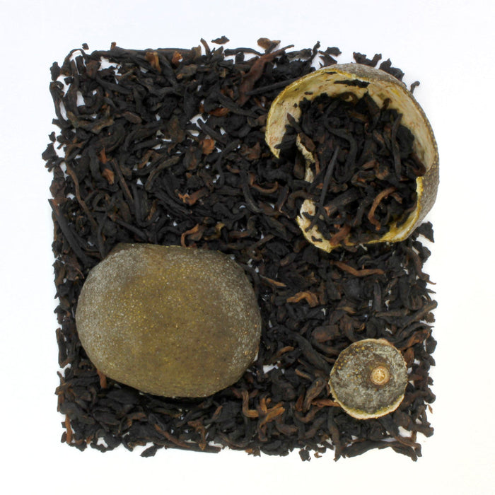 Green Tangerine Pu-erh Tea loose leaf