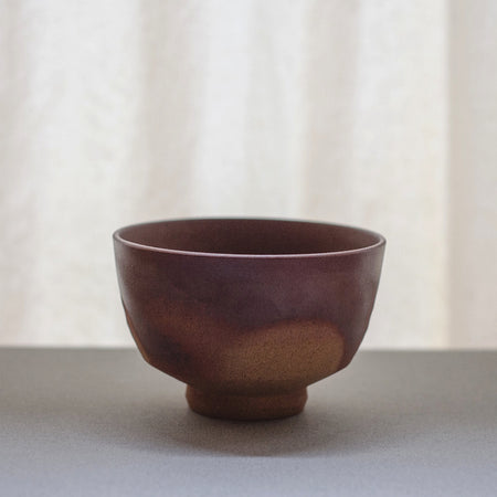 Red Clay Chawan - Matcha Bowl