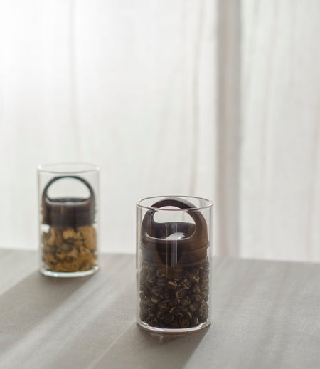 Airtight Glass Tea Canister Small II