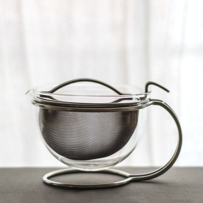Small Mono Glass Teapot (20 oz)