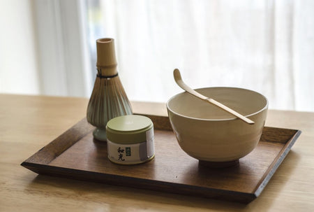 Wooden Matcha Tray - Atmospheric