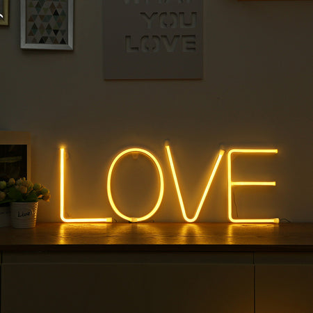 Letters LED Neon Light Sign