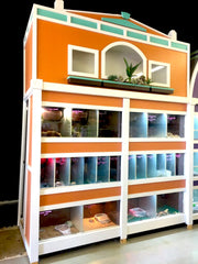 Custom Design Commercial Pet Store Enclosures