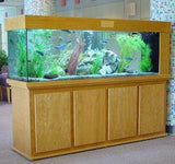 Custom Oak Room Divider Tank