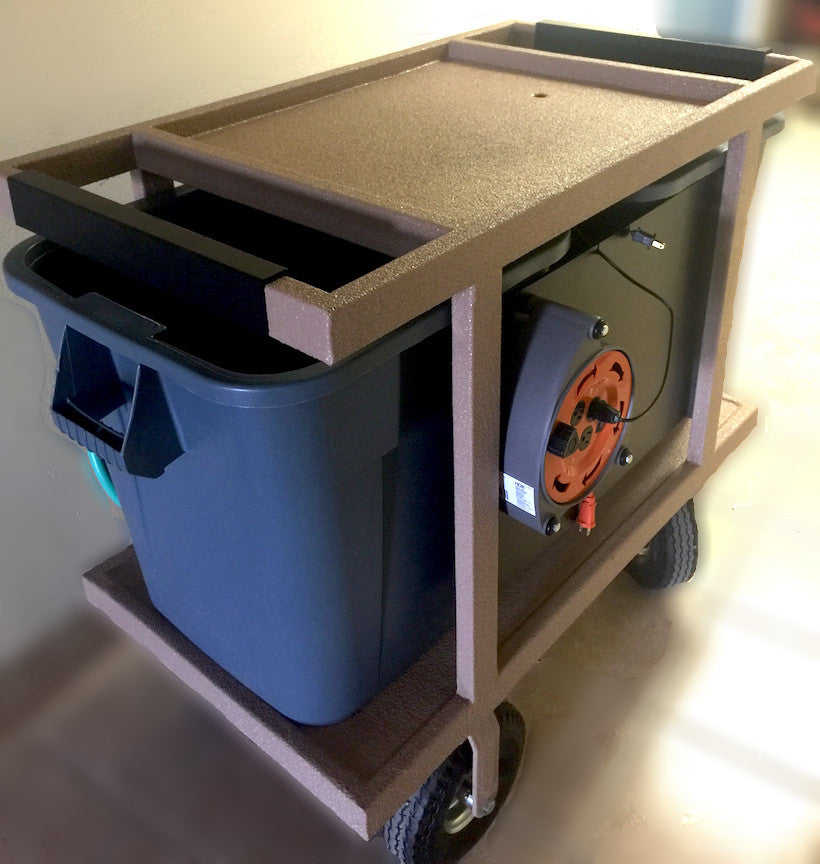 Heavy Duty Mobile Water Change Cart