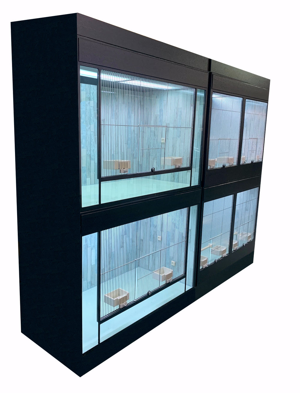 Commercial Bird Aviaries Bird Rack Systems for Retail