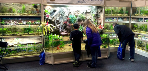 Commercial Freshwater Fish & Plant Enclosures