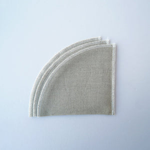 CLOTH FILTER (WHITE) 3枚入り