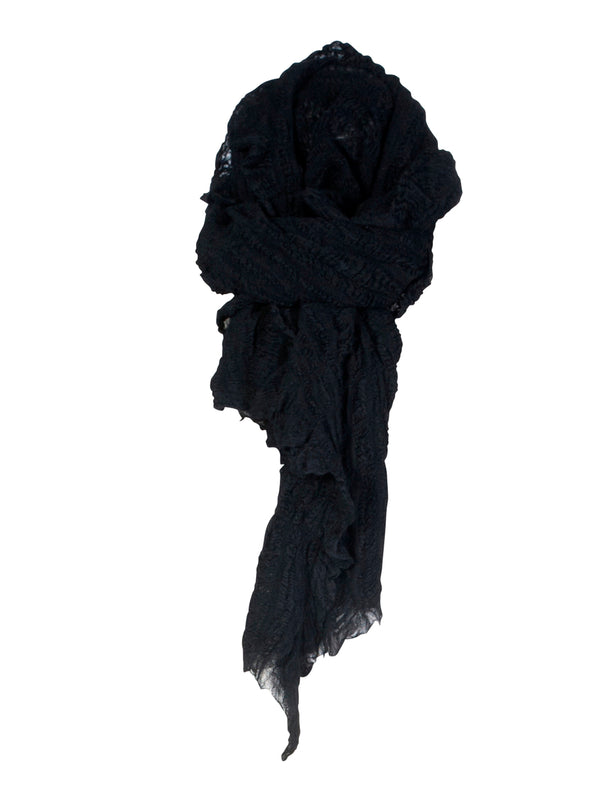 NÜ Hally small scarf Scarf 000 Black