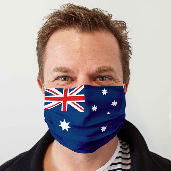 "Community Face Mask ""Australia"""