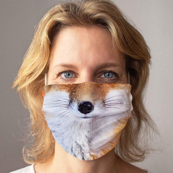 "Community Face Mask ""Fox"""