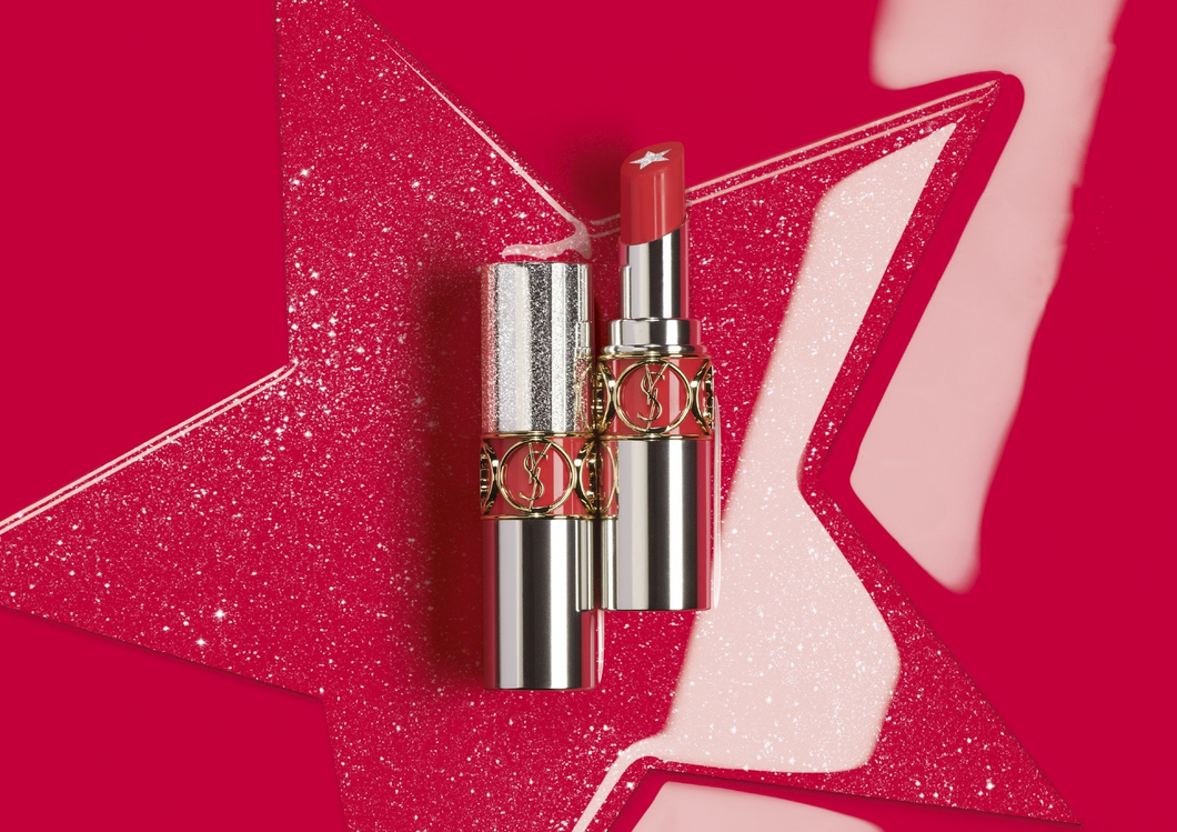 【YSL BEST SELLER】ROUGE VOLUPTE ROCK N SHINE