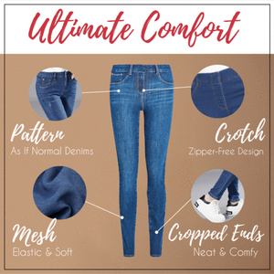 [Promosi Hebat Beli 1 Gratis 1]Perfect Fit Denim Jeggings 👖👖