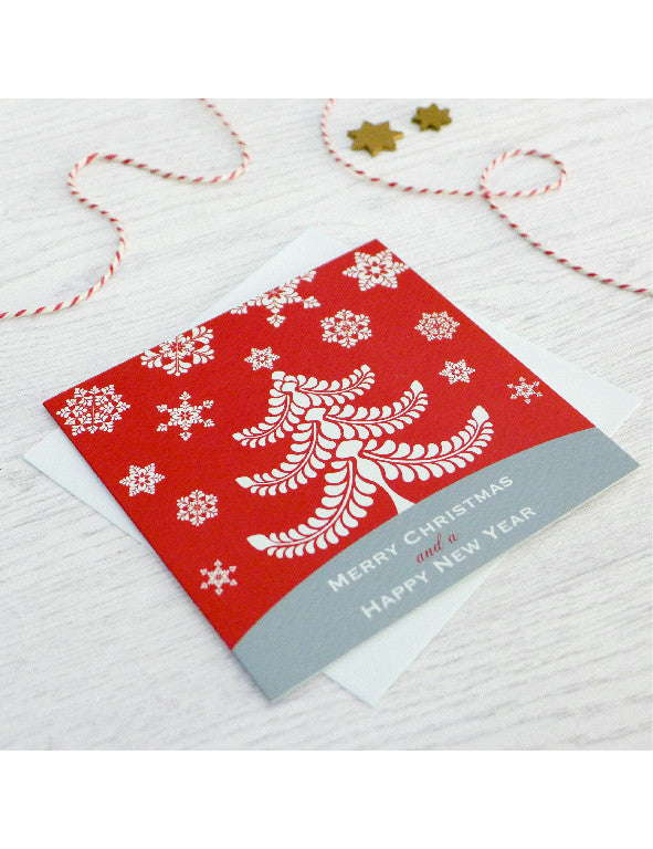 Pack of 5 Christmas Tree Cards