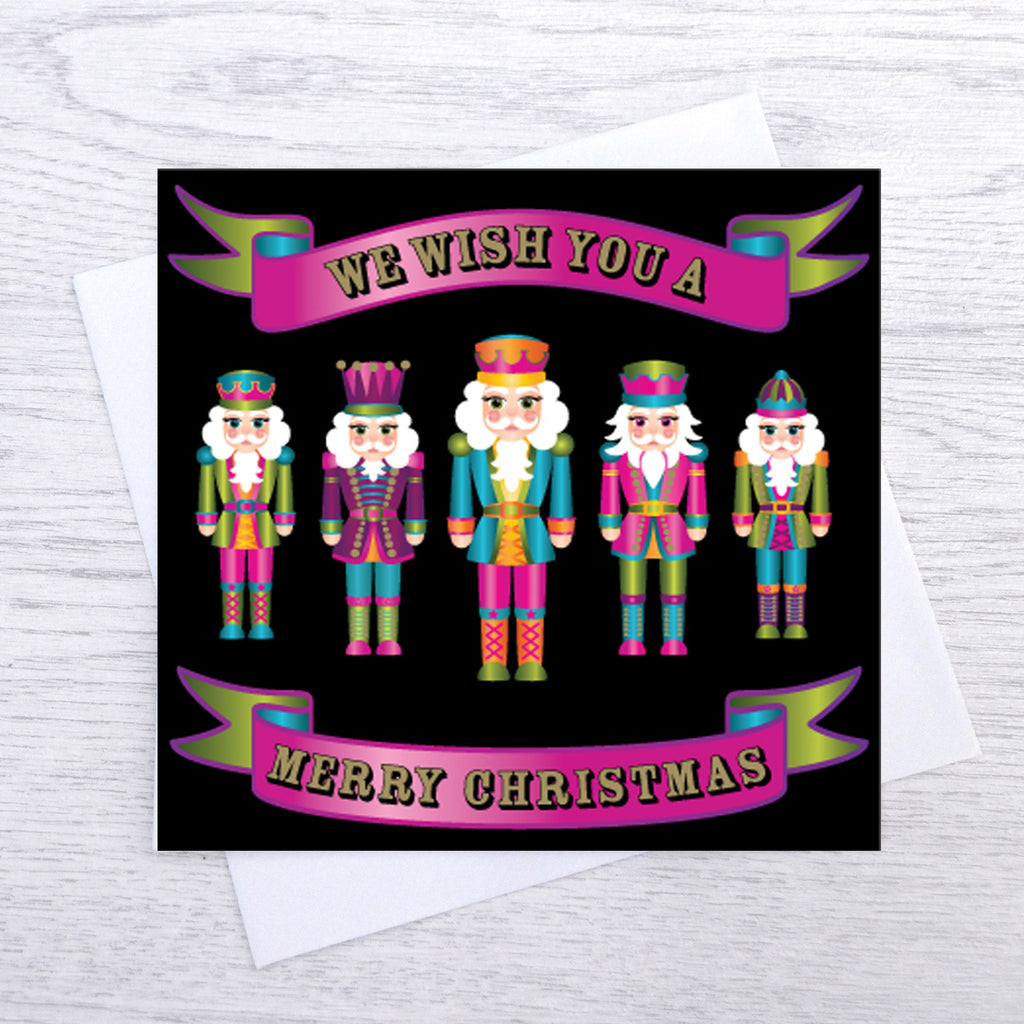 Pack of 5 Nutcracker Christmas Cards