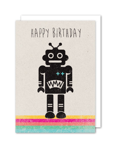 Happy Birthday - Robot