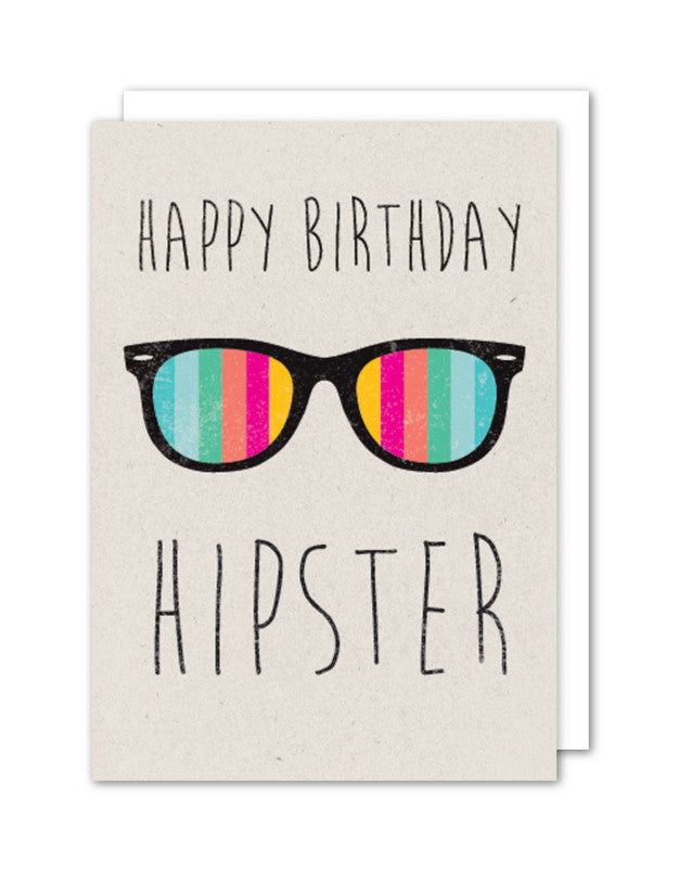 Happy Birthday - Hipster