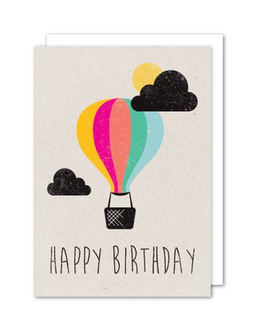Happy Birthday - Hot Air Balloon