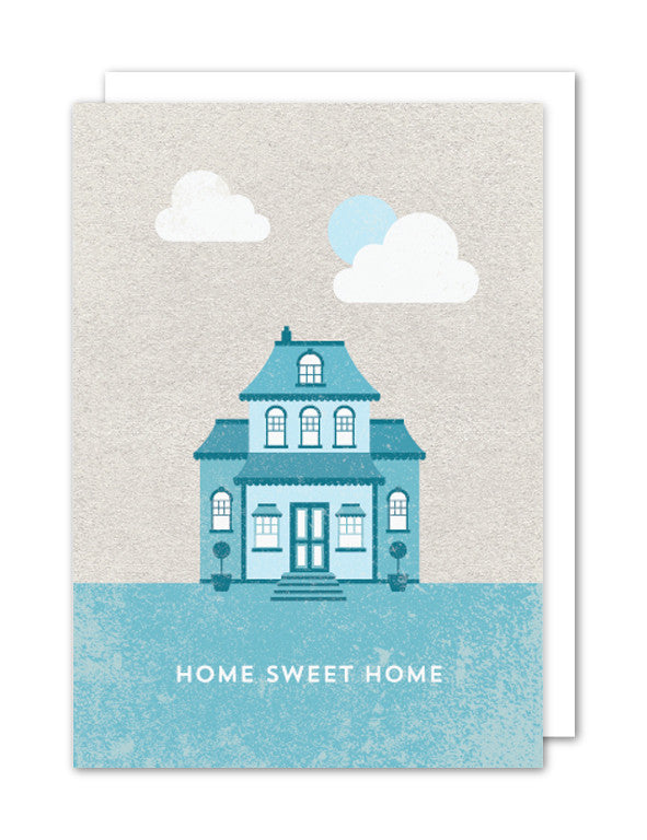 Home Sweet Home House Card by The Strawberry Card Company
