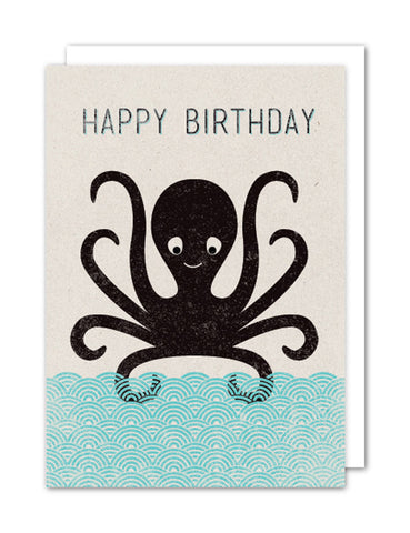 Happy Birthday - Octopus