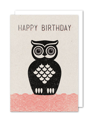 Happy Birthday - Owl
