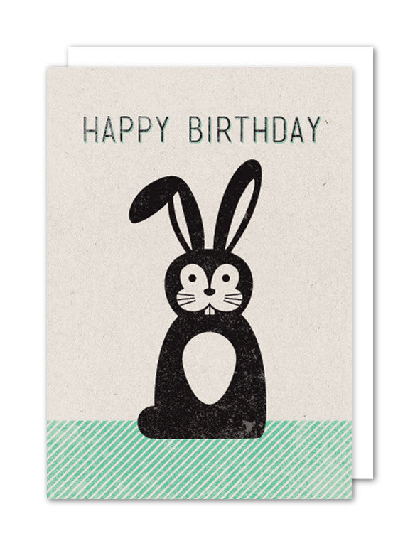 Happy Birthday - Rabbit
