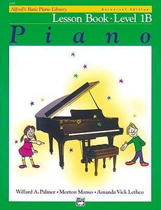 Alfreds Basic Piano Library Lesson Book 1B BK/CD Universal Edition
