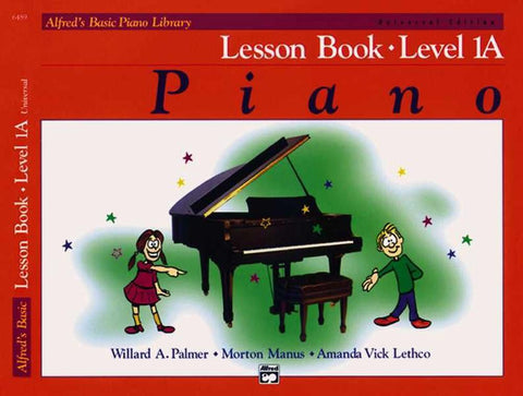 Alfreds Basic Piano Library Lesson Book 1A BK/CD Universal Edition