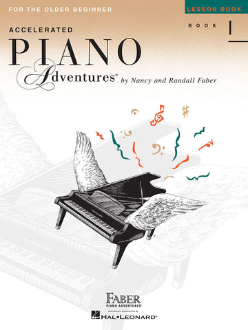 Accelerated Piano Adventures Lesson Book 1 For The Older Beginner
