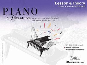 Piano Adventures All in Two Primer Lesson and Theory Book