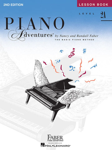 Piano Adventures Lesson Book 2A 2nd Edition