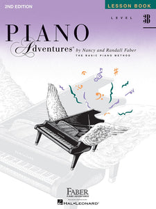 Piano Adventures Lesson Book 3B 2nd Edition