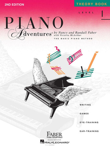 Piano Adventures Theory Book 1 2nd Edition