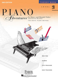 Piano Adventures Theory Book 2B 2nd Edition