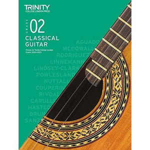 Trinity College London Classical Guitar Exam Pieces 2020-2023 (Grade 2)