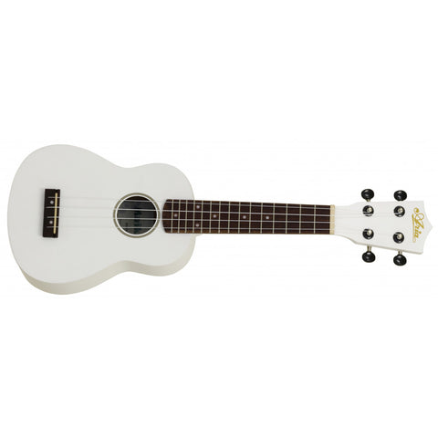 Ukulele with Soft Case (Black or White)