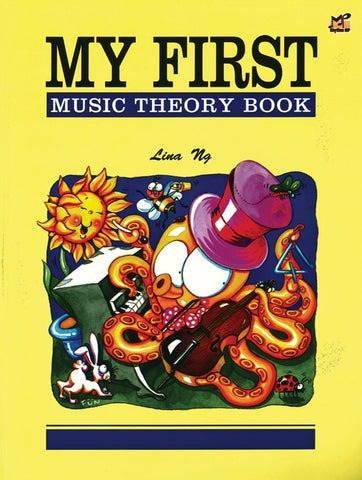 My First Theory Book By Lina Ng