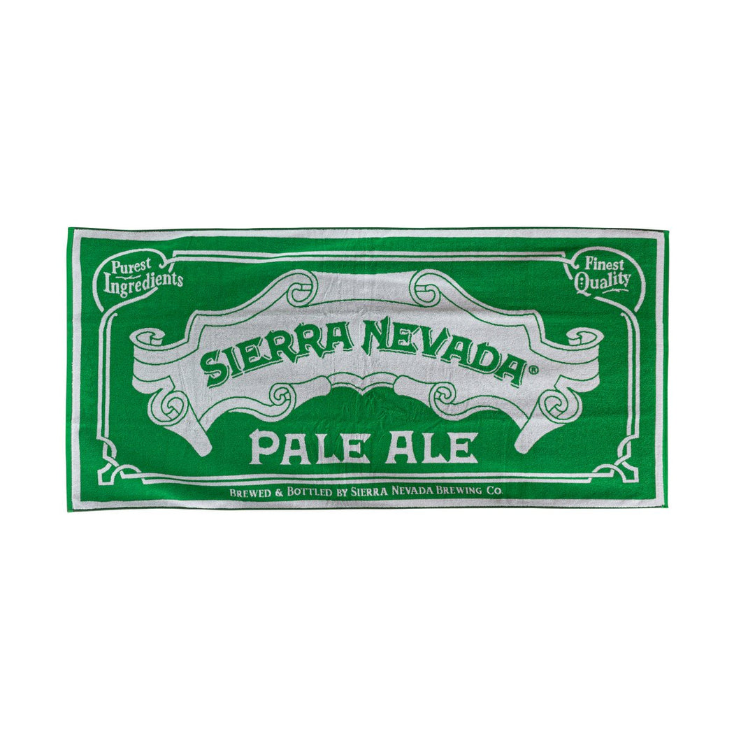 Sierra Nevada Pale Ale Beach Towel / ペールエール ビーチタオル