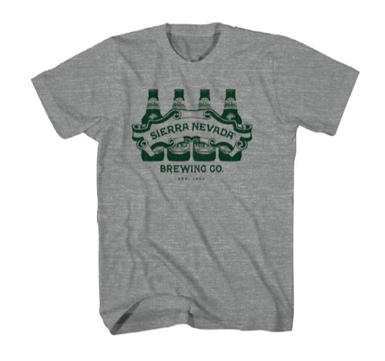 Sierra Nevada Bottle Line Up T-Shirt / ボトルラインナップ Tシャツ