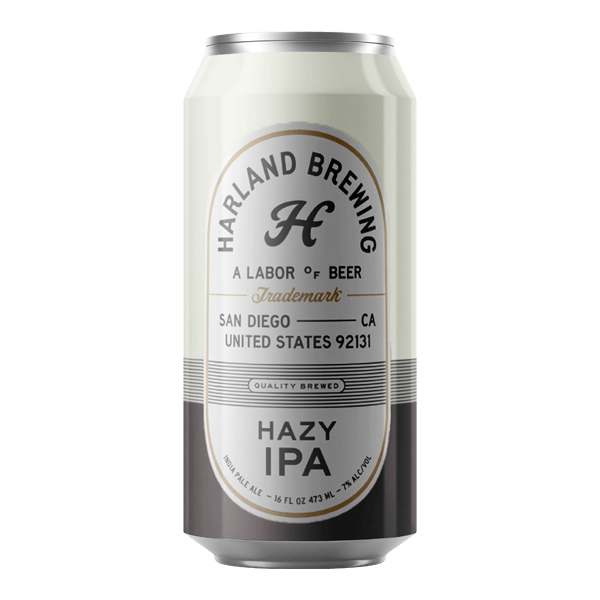 Harland Hazy IPA (473ml) / ヘイジー IPA (473ml)