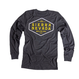 Sierra Nevada Long Sleeve Shield Heather T-Shirt / ロングスリーブ シールド ヘザー Tシャツ