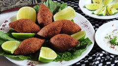 FRIED KIBBEH!!!
