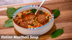 Cooking with Cass: Italian Meatball Soup