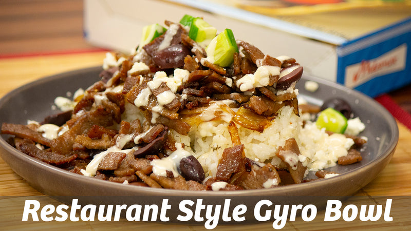 Cooking with Cass: Restaurant Style Gyro Bowl