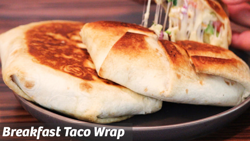 Cooking with Cooking: Breakfast Taco Wrap