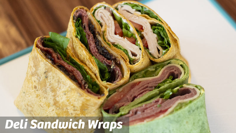 Cooking with Cass: Deli Sandwich Wraps