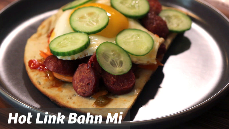 Cooking with Cass: Hot Link Bahn Mi