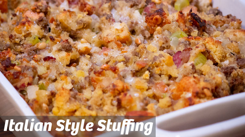 Cooking with Cass: Italian Style Stuffing